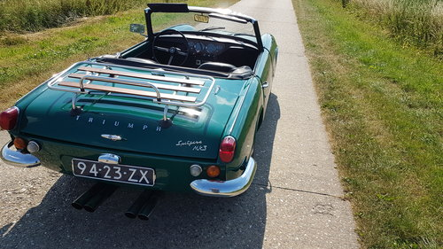 1970 Triumph Spitfire MKIII   SOLD (picture 4 of 6)