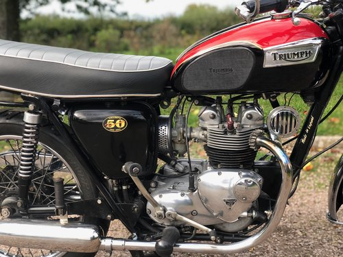 Triumph T100S 1970 500cc, Matching Numbers SOLD (picture 4 of 6)