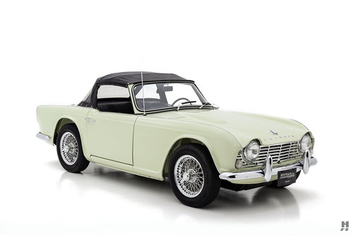 1965 TRIUMPH TR4 ROADSTER SOLD (picture 2 of 6)