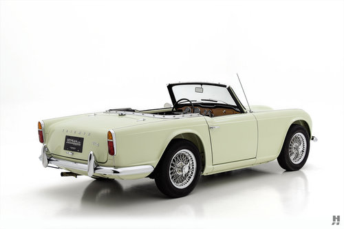 1965 TRIUMPH TR4 ROADSTER SOLD (picture 3 of 6)