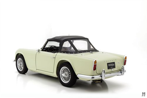 1965 TRIUMPH TR4 ROADSTER SOLD (picture 4 of 6)