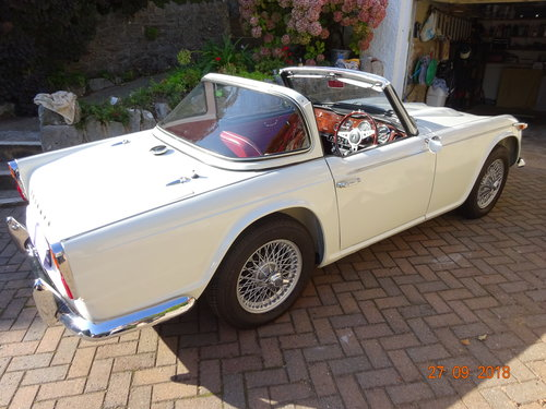 1967 Triumph TR4a IRS SOLD (picture 2 of 6)