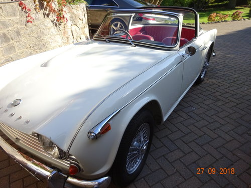 1967 Triumph TR4a IRS SOLD (picture 3 of 6)