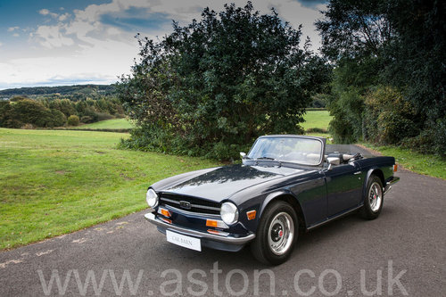 1974 Triumph TR6 SOLD (picture 1 of 6)