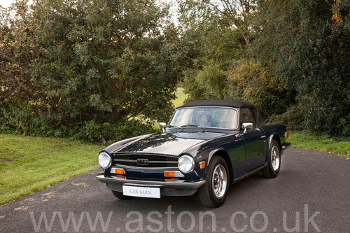 1974 Triumph TR6 SOLD (picture 6 of 6)