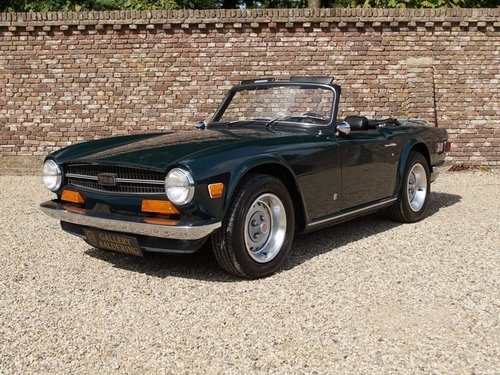 1974 Triumph TR6 matching numbers For Sale (picture 1 of 6)