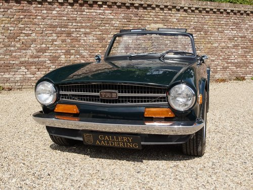 1974 Triumph TR6 matching numbers For Sale (picture 5 of 6)