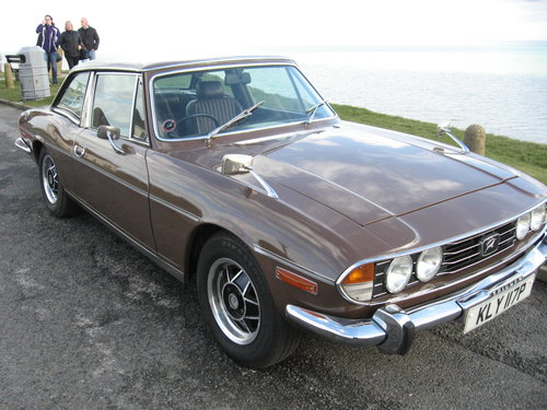 TRIUMPH STAG 1975 ( Ford 3 Litre V6 Essex) SOLD (picture 1 of 6)
