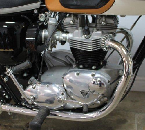 1964  Triumph T120 Bonneville 650 cc Twin  SHOW SOLD (picture 2 of 6)