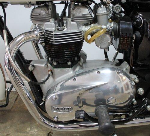 1964  Triumph T120 Bonneville 650 cc Twin  SHOW SOLD (picture 5 of 6)