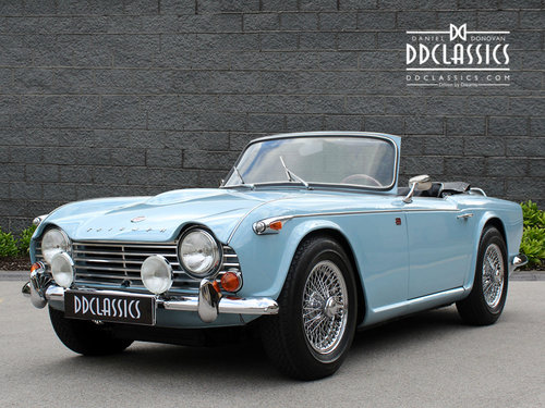separation shoes ab0ab fa460 ... 1966 Triumph TR4 A Roadster For Sale In London (LHD) For Sale (picture  ...