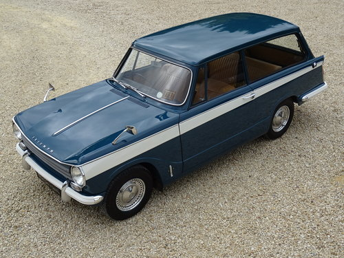 Triumph Herald 13/60 Estate – Complete Restoration SOLD (picture 1 of 6)