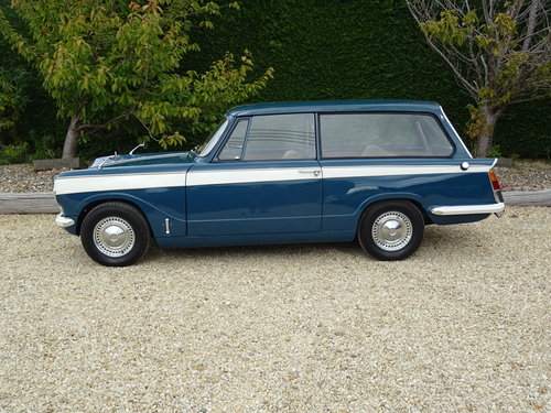 Triumph Herald 13/60 Estate – Complete Restoration SOLD (picture 3 of 6)