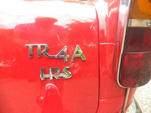 1967 TR4A IRS 16000 MILES SINCE RESTORATION For Sale (picture 6 of 6)