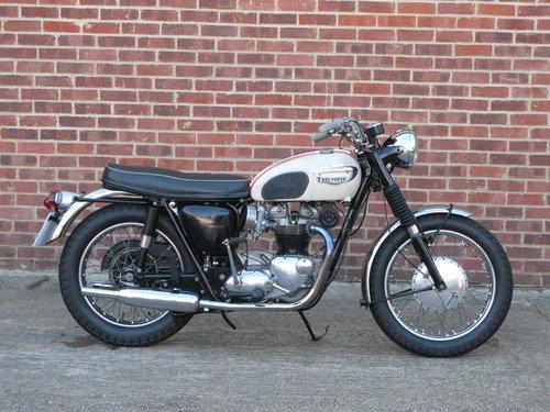 1966 Triumph T120R Bonneville  For Sale (picture 1 of 6)