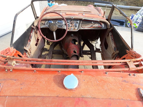 1960 Triumph TR3A complete, need restauration For Sale (picture 3 of 6)