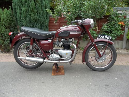 Triumph 1955 5t Speed Twin SOLD (picture 1 of 6)