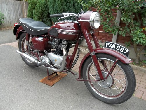 Triumph 1955 5t Speed Twin SOLD (picture 2 of 6)