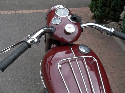 Triumph 1955 5t Speed Twin SOLD (picture 4 of 6)