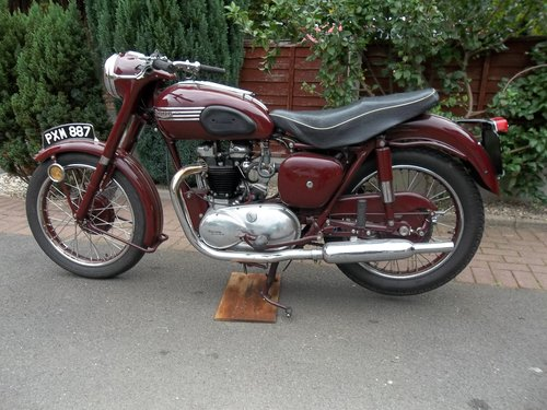 Triumph 1955 5t Speed Twin SOLD (picture 5 of 6)