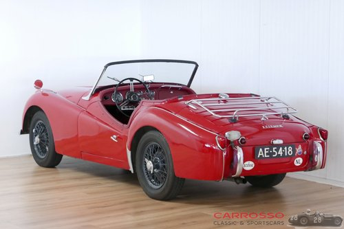 Triumph TR3A 1960 with overdrive in a nice used condition For Sale (picture 2 of 6)