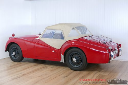 Triumph TR3A 1960 with overdrive in a nice used condition For Sale (picture 5 of 6)