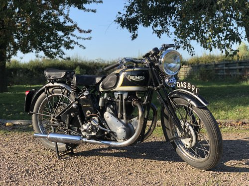 Triumph 5/5 Registered In 1936 500 cc OHV Twin-Port Single!! For Sale (picture 1 of 6)