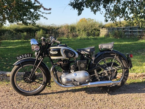 Triumph 5/5 Registered In 1936 500 cc OHV Twin-Port Single!! For Sale (picture 2 of 6)
