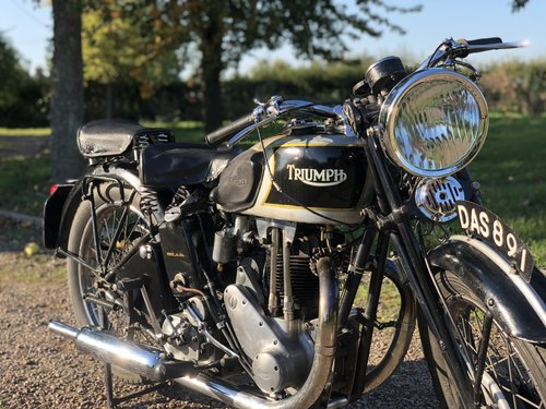 Triumph 5/5 Registered In 1936 500 cc OHV Twin-Port Single!! For Sale (picture 3 of 6)