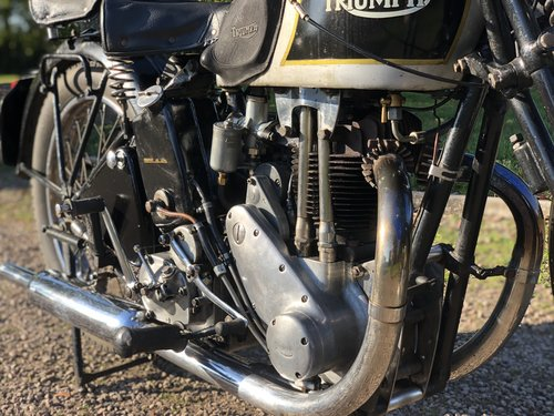 Triumph 5/5 Registered In 1936 500 cc OHV Twin-Port Single!! For Sale (picture 4 of 6)