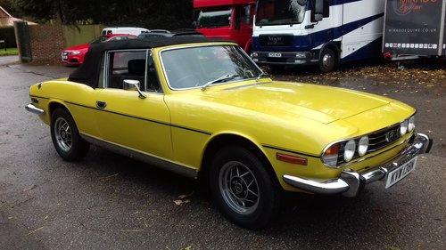 1974 TRIUMPH STAG  SOLD (picture 1 of 6)