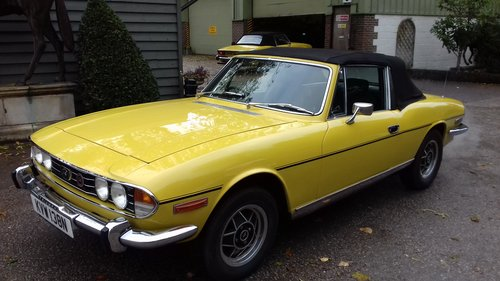 1974 TRIUMPH STAG  SOLD (picture 4 of 6)