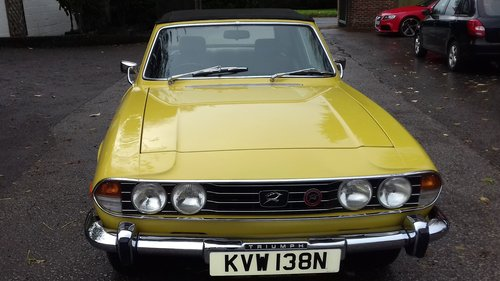 1974 TRIUMPH STAG  SOLD (picture 6 of 6)