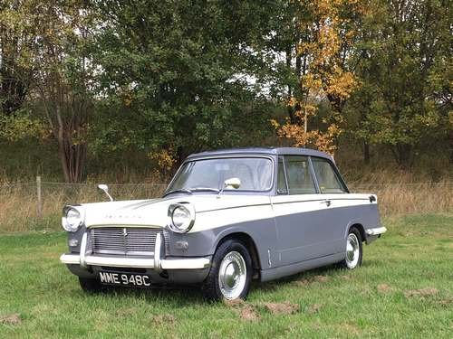 1965 Triumph Herald 12/50 at Morris Leslie Auction 24th November SOLD by Auction (picture 1 of 6)