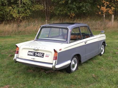 1965 Triumph Herald 12/50 at Morris Leslie Auction 24th November SOLD by Auction (picture 2 of 6)