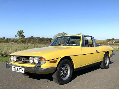 1974 Triumph Stag MK II 3.0 V8 Automatic SOLD (picture 1 of 6)