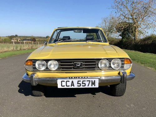 1974 Triumph Stag MK II 3.0 V8 Automatic SOLD (picture 2 of 6)