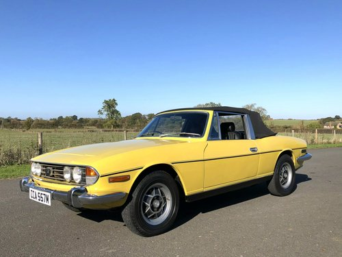 1974 Triumph Stag MK II 3.0 V8 Automatic SOLD (picture 3 of 6)