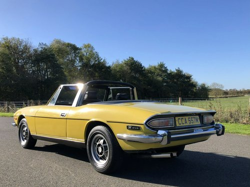 1974 Triumph Stag MK II 3.0 V8 Automatic SOLD (picture 4 of 6)