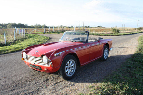 TR4A 1968 WITH OVERDRIVE SOLD (picture 1 of 6)
