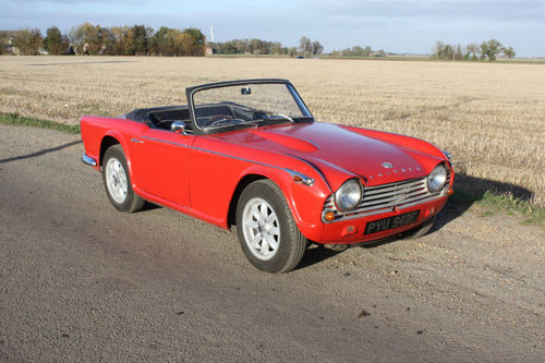 TR4A 1968 WITH OVERDRIVE SOLD (picture 5 of 6)