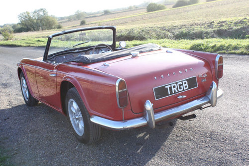 TR4A 1968 WITH OVERDRIVE SOLD (picture 6 of 6)