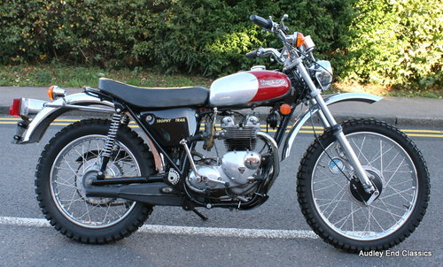1974 Triumph trophy trail invery good condition SOLD (picture 2 of 6)