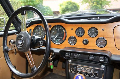 Stunning TR6 Roadster with Overdrive from 1971 For Sale (picture 5 of 6)