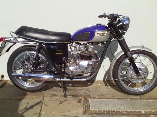 1970 TRIUMPH DAYTONA T100T SOLD (picture 1 of 6)