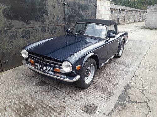 1969 Tr6 Uk Rhd Cp Code 150hp Older Restoration For Sale Car And