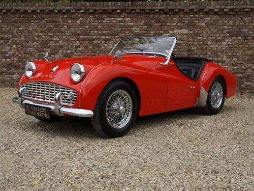 1961 Triumph TR3A restored condition For Sale (picture 1 of 6)