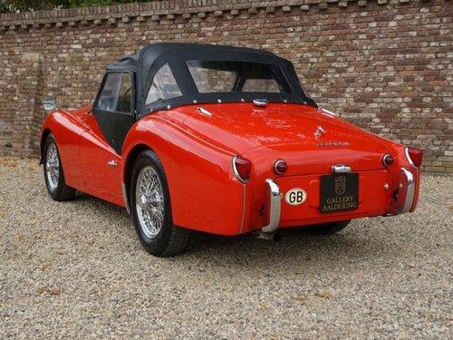1961 Triumph TR3A restored condition For Sale (picture 2 of 6)