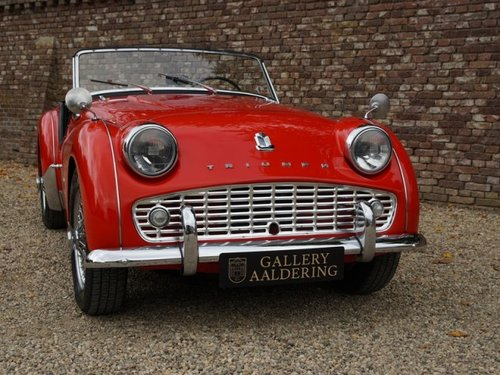 1961 Triumph TR3A restored condition For Sale (picture 5 of 6)
