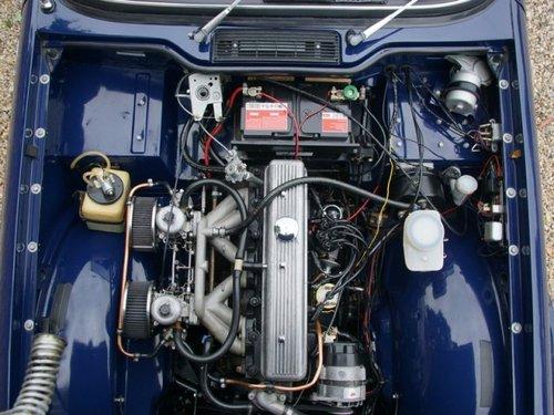 1973 Triumph TR6 unique factory metal hard-top, rally prepared, o For Sale (picture 4 of 6)
